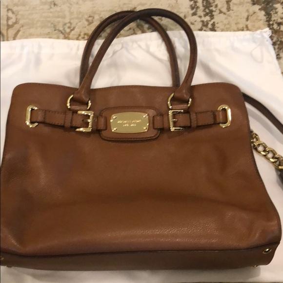 Michael Kors Handbags - Michael Kors Cognac Purse